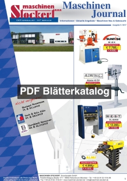Stockerts Maschinenzeitung